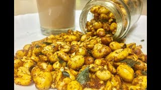 Masala peanuts by cooking with girija/Bangalore mysore famous snack congress kadalekai in hindi