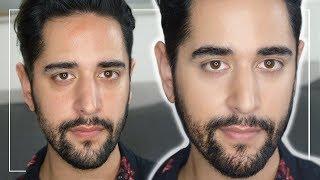 Mens Natural Everyday Makeup Tutorial - Makeup For Men - NO Makeup, Makeup ✖ James Welsh