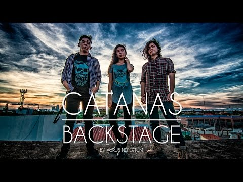Aurus Nefertum Backstage - Sesión - Banda - Gatanas