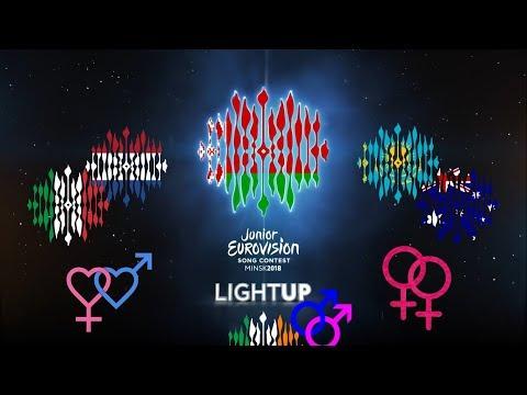 Нидерланды, Италия, Австралия, Казахстан и Ирландия на Детском Евровидении 2018.