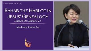 Rahab the Harlot in Jesus' Genealogy