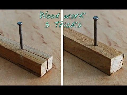 3 Wood working Tricks / Tips..