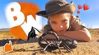Mini Coyote Peterson Explores the Wild!