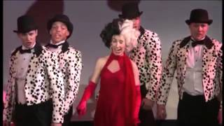 Sammi Penick as Cruella de Vil - Disney Cruise Line