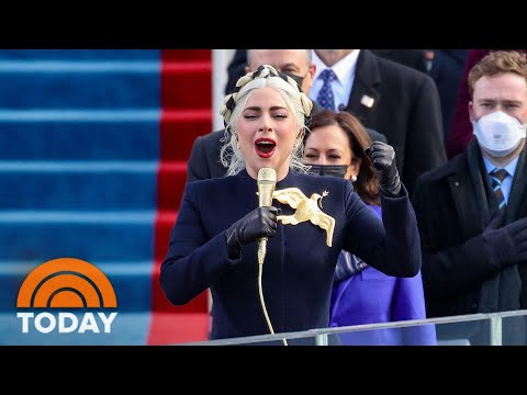 Watch Lady Gaga Perform The National Anthem At Biden's Inauguration | TODAY