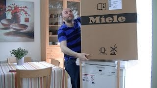 Miele G4203 SC Active Dishwasher Unboxing & First Look