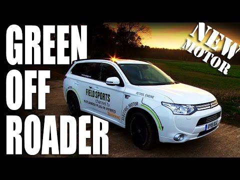 New Motor: Mitsubishi Outlander PHEV 'Browning'