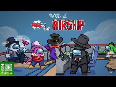 Annonce Xbox, aperçu carte Airship de Among Us