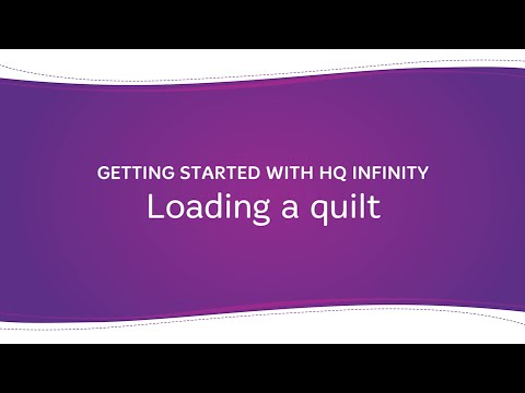 HQ Infinity - Loading the Quilt
