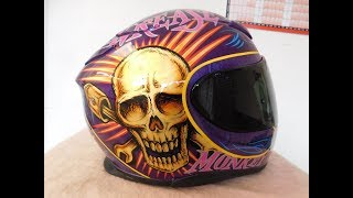 My new crash helmet
