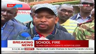 Mike Sonko mourns the death of seven students who died in Moi Girls School-Kibera