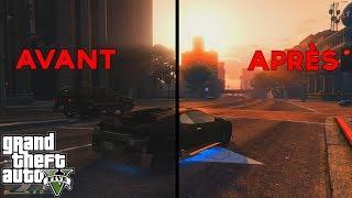 GTA 5 PC : AVOIR UN JEU PLUS BEAU SANS PERTE DE PERFORMANCE !!