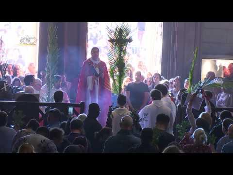 Messe des Rameaux du 9 avril 2017