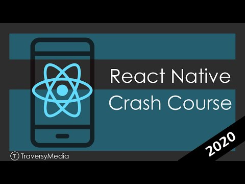 React Native Crash Course 2020