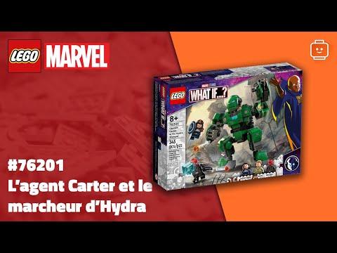 Vidéo LEGO Marvel 76201 : L'agent Carter et le marcheur d'Hydra