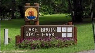 Where is lake bruin in louisiana