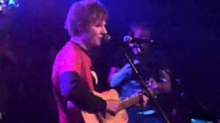Ed Sheeran - Lately (LIVE @ Bournemouth Firestation 12/02/2011)