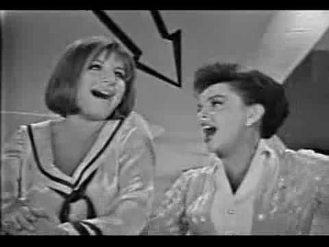 Happy Days are Here Again / Get Happy (Song) by Barbra Streisand and Judy Garland