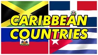 Caribbean Countries and Their Flags (West Indies)