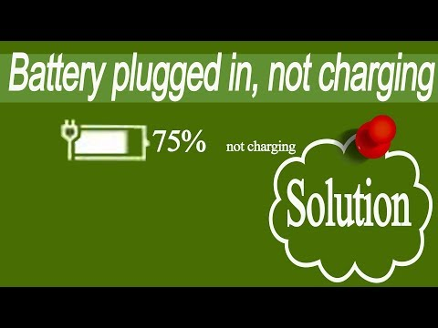 Laptop Battery not charging,