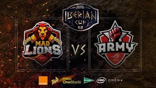 MAD LIONS VS ASUS ROG ARMY | MAPA 1 | IBERIAN CUP | SEMIFINALES