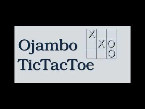 Video of Ojambo Tic Tac Toe Game