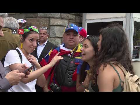 A Protest Rally Over The Expulsion Of Maduro Supporters From The Venezuelan Embassy In Washington