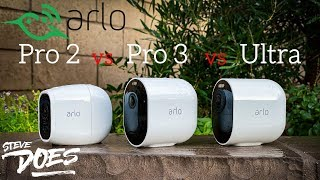 Comparing Arlo Pro 3 with Pro 2 and Ultra (Giveaway)