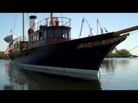 Restoration of the 103' Mathis Trumpy fantail yacht