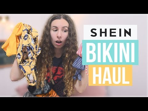 SHEIN BIKINI HAUL – Honest review & Haul