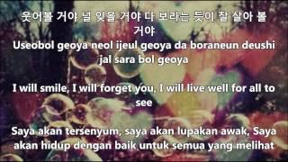 2am Regret [hangul & korean lyrics / english & malay sub]