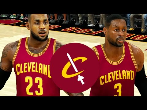 What If Dwayne Wade Signed With The Cavaliers To Play With LeBron James Again? NBA 2K17