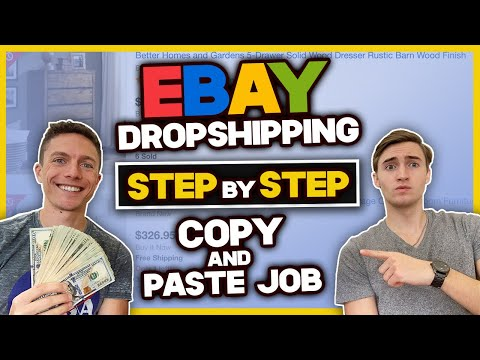 How To DROPSHIP On Ebay As A Beginner STEP By STEP (Copy And Paste Job)