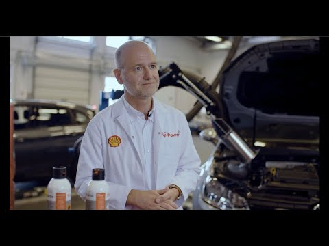 Reinigungswirkung von Shell V-Power Diesel