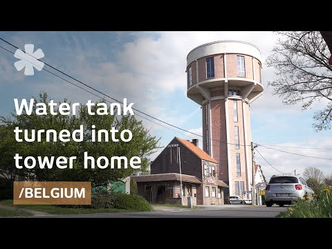 From old belgian water tank to dream tower house with a - The house in the old franciscan tower ...