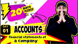 DAY 01 I ACCOUNTS I FINANCIAL STATEMENTS OF A COMPANY I COMMERCEBABA I BOARDS 2020