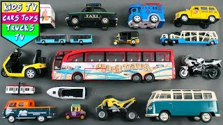 Learn City Vehicles For Toddlers | Toy Videos