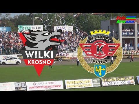 WIDEO: Wilki Krosno - Kolejarz Opole 48-42 [SKRÓT MECZU]