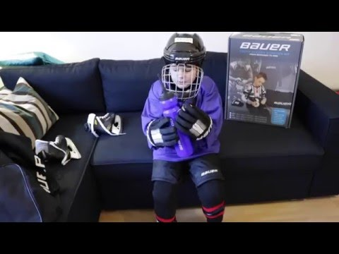Eishockey Ausrüstung anziehen - how to put on your Icehockey Equipment - by Gogofett Kidsworld