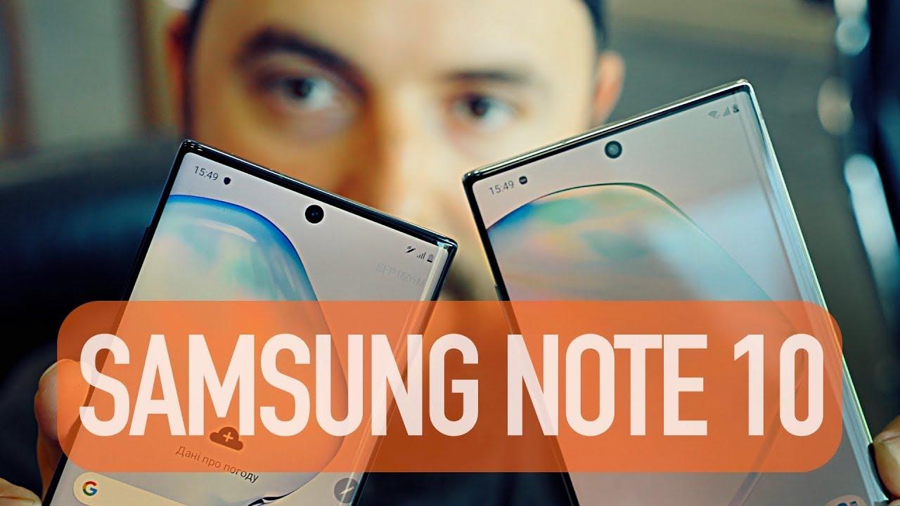 Samsung Galaxy Note 10 Plus 2019 N975F 12/256Gb Aura Black (SM-N975FZKDSEK) video preview