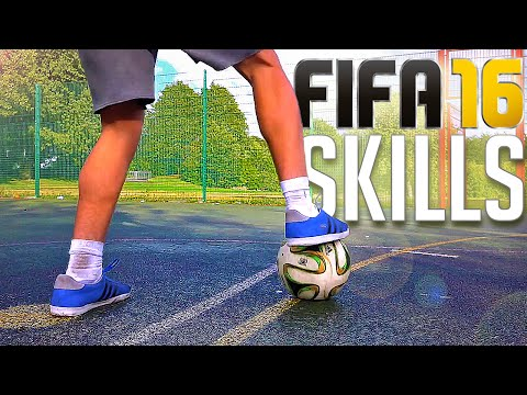 TOP 3 - FIFA 16 SKILLS (IN REAL-LIFE)