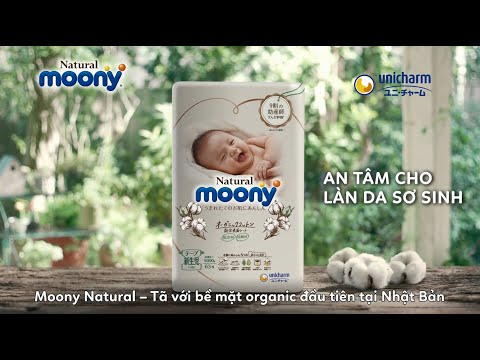 Moony Natural - An tâm cho làn da sơ sinh - 30s