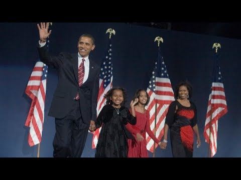 President-Elect Barack Obama on Election Night