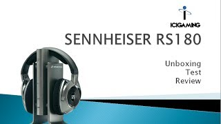 SENNHEISER RS180 Test/Unboxing/Review [HD+] [deutsch / german]