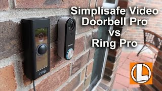 Simplisafe Video Doorbell Pro vs Ring Pro - Comparison of Features, Video and Audio Quality