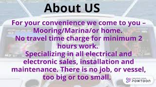 Marine Electrician in Auckland