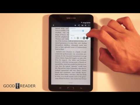 B&N Samsung Galaxy Tab A Nook Review