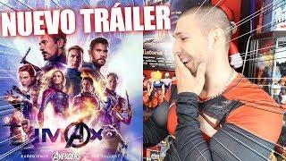 ESTO VA A SER ÉPICO! Avengers: EndGame - Tráiler #3