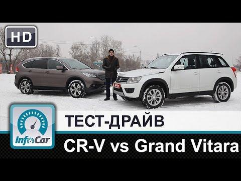 Suzuki  Grand Vitara Внедорожник класса J - тест-драйв 10