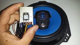 Amplificador de Áudio Usando 1 Transistor A1788 PNP
